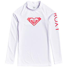 Roxy Girl's Wholehearted Long Sleeve Rashguard