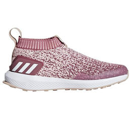Adidas Girl's Rapidarun Laceless Knit Shoes