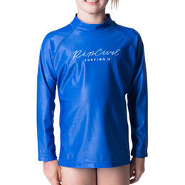 Rip Curl Girl's Rosewood Long Sleeve Rash Guard