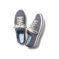 tOP OF Keds Women's Kickstart Chambray Stripe Casual Shoes