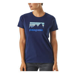 Patagonia Women's Shop Sticker Responsibili-Tee Short Sleeve T Shirt