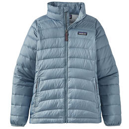 Patagonia Girl's Down Sweater Jacket - Blue