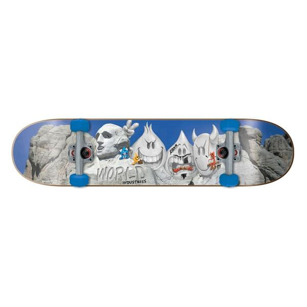 World Industries Mount Rushmore Mini Complete Skateboard
