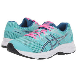 Asics Girl's Gel-Contend 5 Running Shoes Laces (Big Kids)
