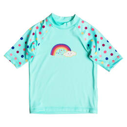 Roxy Toddler Girl's Sweet Tooth Short Sleeve Rashguard