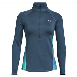 Under Armour Women's Coldgear Armour Print Half Zip Jacket
