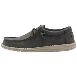 Hey Dude Men's Wally Recycled Leather Casual Shoes