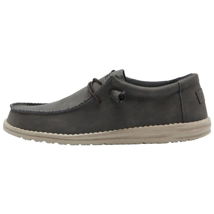 Hey Dude Men's Wally Recycled Leather Casua