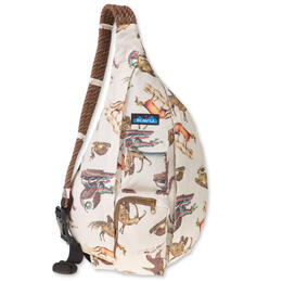 KAVU Women's Rope Sling Day Menagerie Backpack