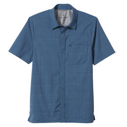 Royal Robbins Men's Mission Dobby Short Sleeve Shirt