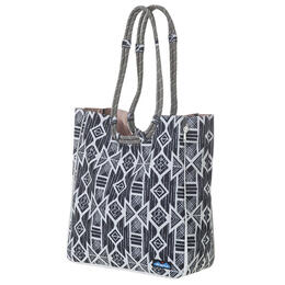 Kavu Women's Carbon Tribal Market Tote Bag