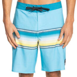 "Quiksilver Men's Surfsilk Sun Faded 19"" Boardshorts"
