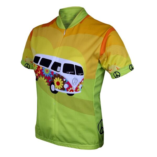 World Jerseys Women's Hippy Van Cycling Jersey