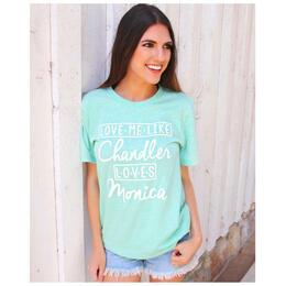 ATX Mafia Women's Chandler Loves Monica Tee Shirt