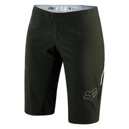Fox Women's Attack Cycling Shorts Black/White
