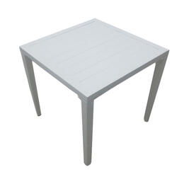 Casual Classics Poolscape Square Slat End Table