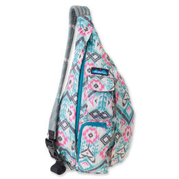 Kavu Rope Bag Backpack Island Ikat