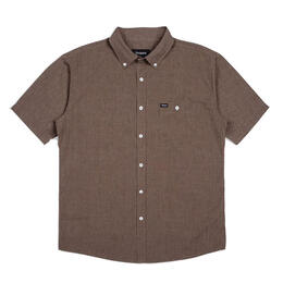 Brixton Men's Central Short Sleeve Woven Shirt
