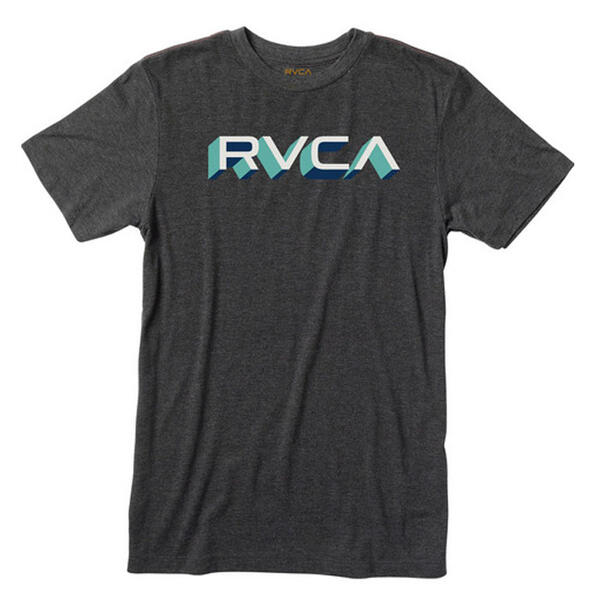 Rvca Men's Third Dimension Tee Shirt