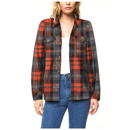 O'Neill Women's Zuma Long Sleeve Flannel Top