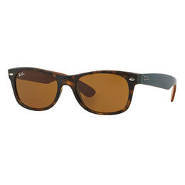 Ray-Ban New Wayfarer Sunglasses With Brown Classic B-15 Lenses