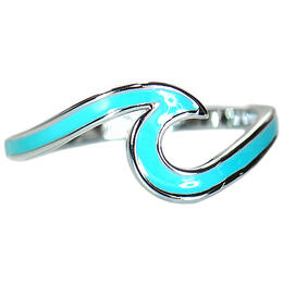 Pura Vida Bracelets Women's Enameled Wave Ring
