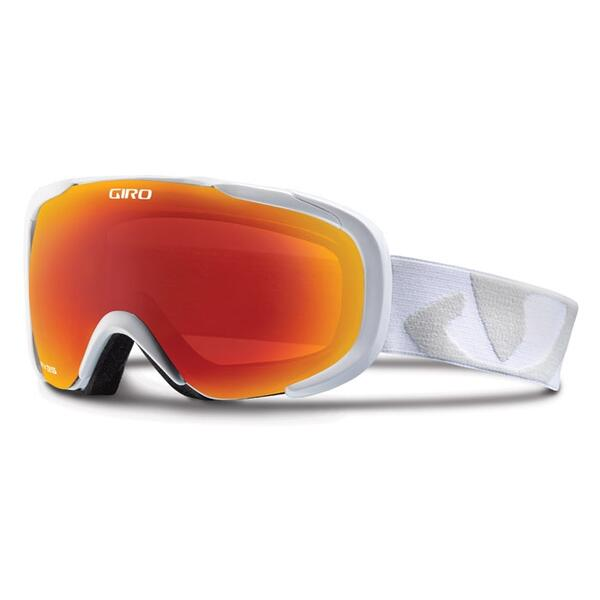 Giro Compass Snow Goggles With Amber Scarlet Lens