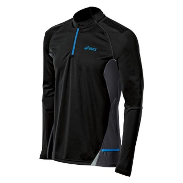 Asics Men's Fuji Long Sleeve 1/2 Zip Running Top
