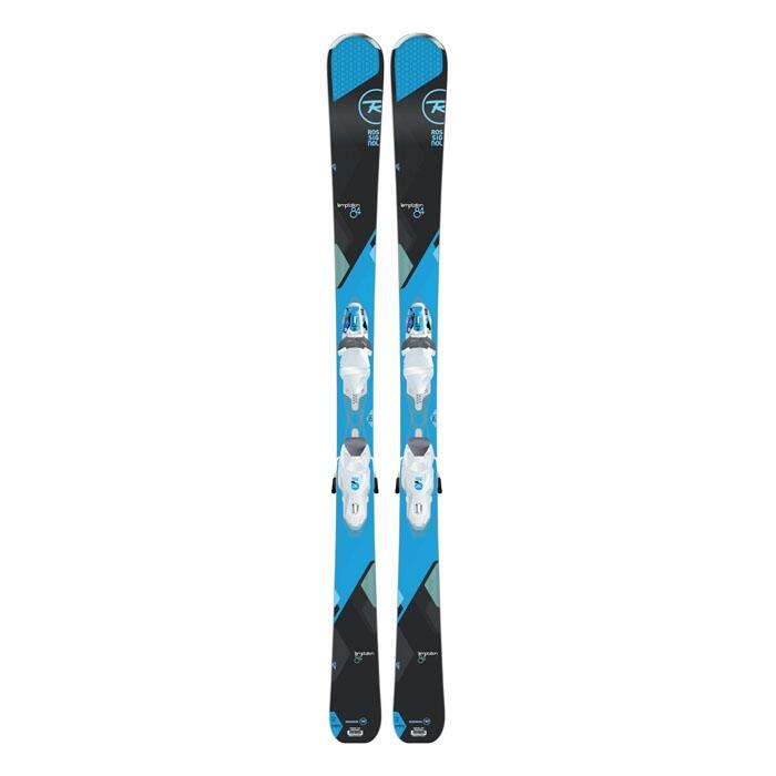 Rossignol Women's Temptation 84 All Mountain Skis With Saphir 110 Bindings '16
