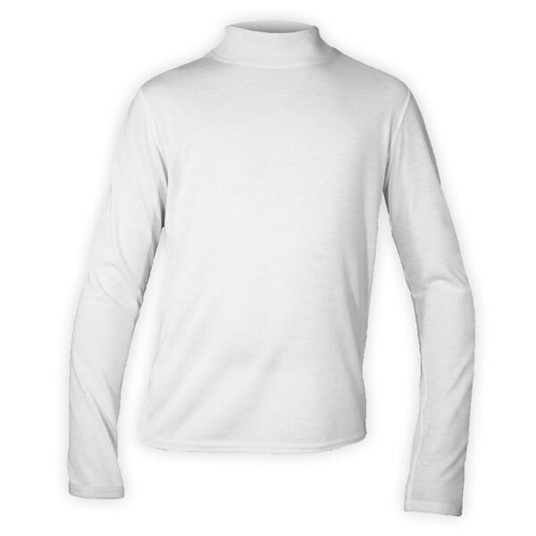 Hot Chillys Junior Pepper Skins Mock T-Neck