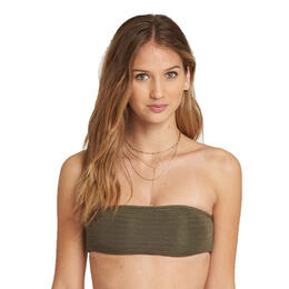 Billabong Jr Girl's No Hurry Bandeau Bikini Top