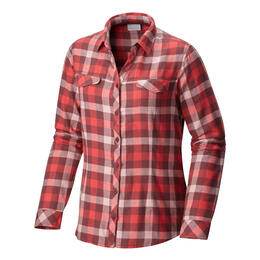 Columbia Women's Simply Put II Long Sleeve Flannel Shirt
