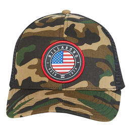 Billabong Men's Camo Native Rotor Trucker Hat
