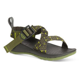 Chaco Kids Z/1 EcoTread Casual Sandals Forest Points