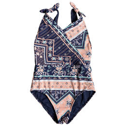 Roxy Girls' Heart In The Waves Swimsuit