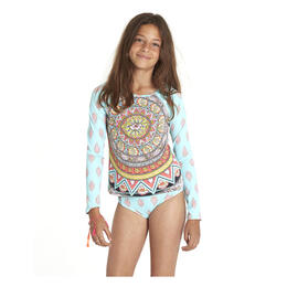 Billabong Girl's Samsara Long Sleeve Rashguard Set