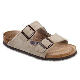 Birkenstock Men's Arizona Soft Footbed Suede Casual Sandals