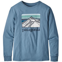 Patagonia Boy's Graphic Organic Cotton Long Sleeve Shirt