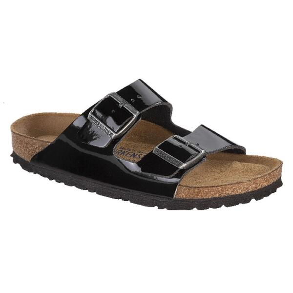 Birkenstock Women's Arizona Soft Footbed Leather Casual Sandals