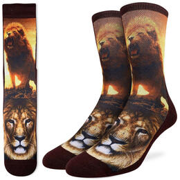 Good Luck Socks Men's Lion Socks