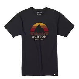 Burton Men's Underhill Logo Short Sleeve T Shirt