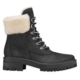 Timberland Women's Courmayeur Valley Black Nubuck Hiking Boots