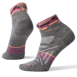 Smartwool Women's PHD Outdoor Ultra Light Pattern Trail Socks