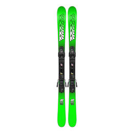 K2 Boy's Juvy All Mountain Skis W/ 7.0 Bindings '18