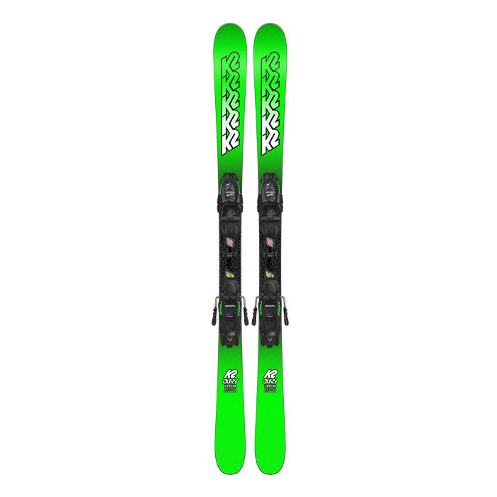 K2 Skis Boy's Juvy All Mountain Skis W/ 7.0