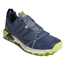 Adidas Men's Terrex Agravic Trail Running Shoes Steel/Navy