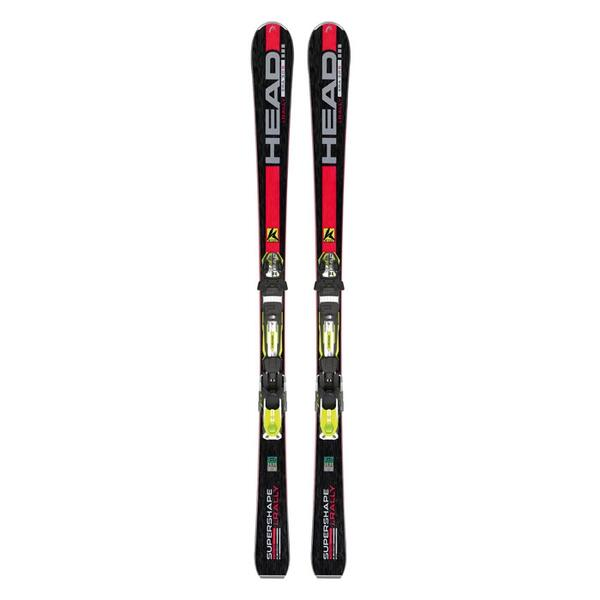 Head Men's i.Supershape Rally All Mountain Skis with PRX 12 Bindings '15