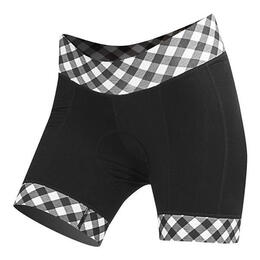 Shebeest Women's Ultimo Plus Gingham Cycling Shorts
