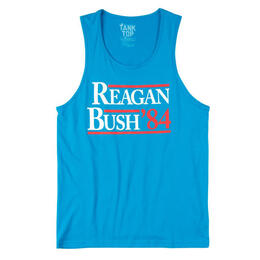 Rowdy Gentleman Men's Reagan Bush '84 Tank Top