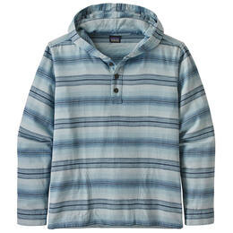 Patagonia Men's Lightweight Fjord Flannel Hoodie Shirt